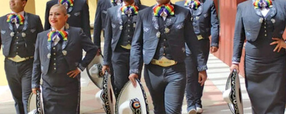 El Mariachi Arcoíris lleva el folclor mexicano a la comunidad LGBT