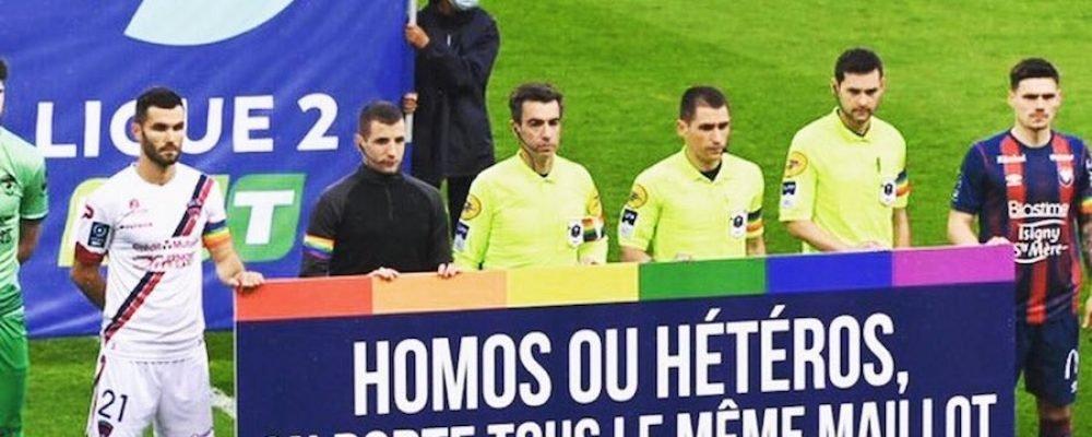 """Homofobia: """"El fútbol va con retraso respecto a la sociedad"""" (presidente de asociación)"""