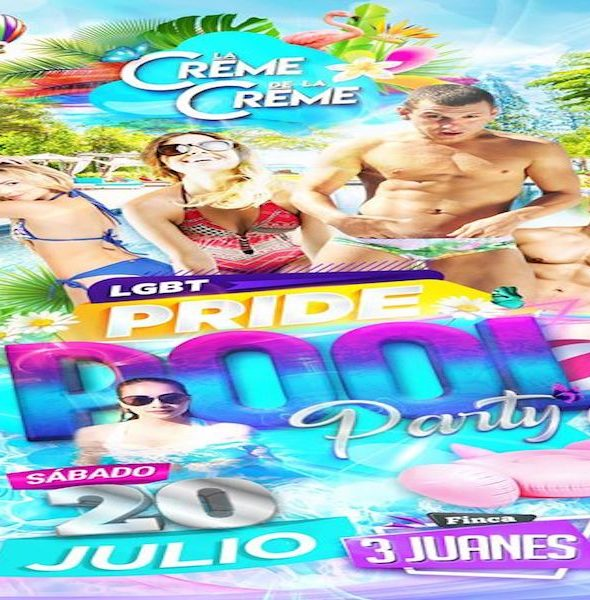 La Crème de la Crème Pride Pool Party 2019